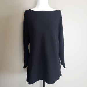 H&M Basic, Black Sweater, Small